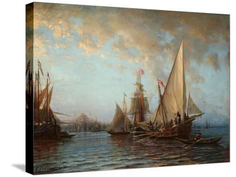 The Dardanelles, 1873-Alexei Petrovich Bogolyubov-Stretched Canvas Print