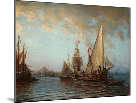 The Dardanelles, 1873-Alexei Petrovich Bogolyubov-Mounted Giclee Print