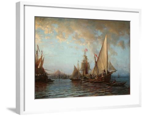The Dardanelles, 1873-Alexei Petrovich Bogolyubov-Framed Art Print