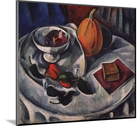 Still Life with Pumpkin, 1912-Alexander Vassilyevich Kuprin-Mounted Giclee Print