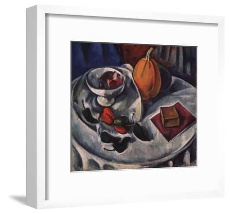 Still Life with Pumpkin, 1912-Alexander Vassilyevich Kuprin-Framed Art Print