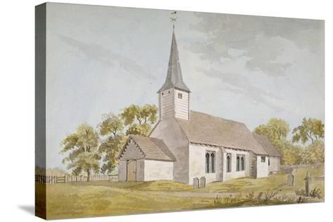 All Saints Church, Foots Cray, Kent, 1790--Stretched Canvas Print