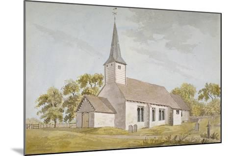 All Saints Church, Foots Cray, Kent, 1790--Mounted Giclee Print