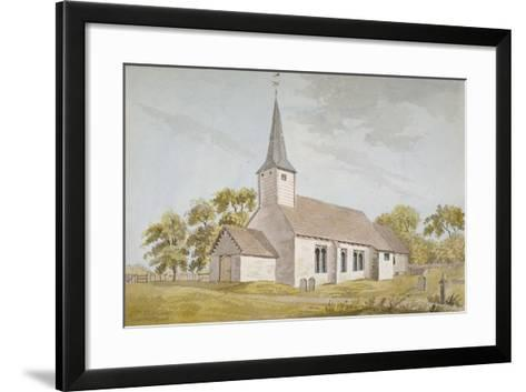 All Saints Church, Foots Cray, Kent, 1790--Framed Art Print