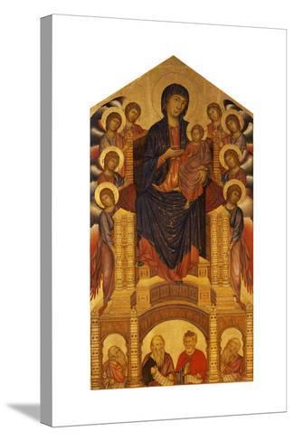 Maesta of Santa Trinita, C. 1280-Giovanni Cimabue-Stretched Canvas Print