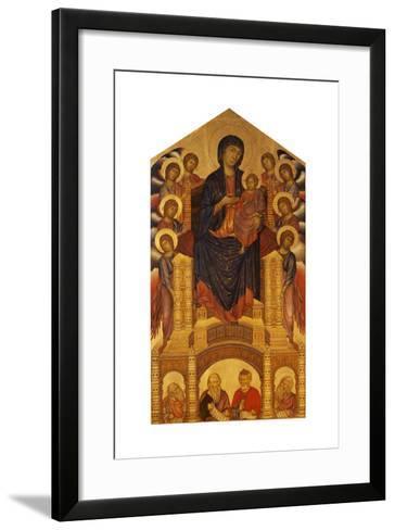 Maesta of Santa Trinita, C. 1280-Giovanni Cimabue-Framed Art Print