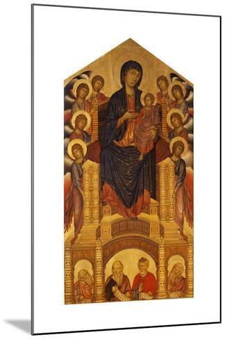 Maesta of Santa Trinita, C. 1280-Giovanni Cimabue-Mounted Giclee Print