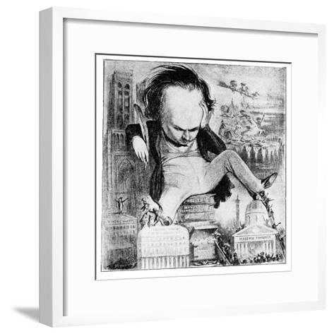Victor Hugo, 1923-Benjamin-Framed Art Print