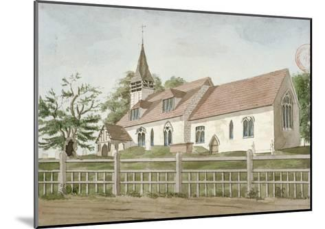 Church of St Mary, Norwood, Middlesex, C1800--Mounted Giclee Print