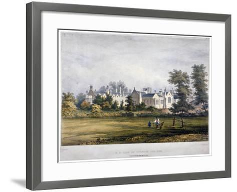 Dulwich College, London, C1830-Standidge & Co-Framed Art Print