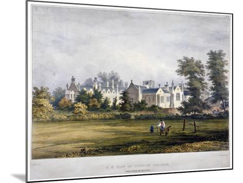 Dulwich College, London, C1830-Standidge & Co-Mounted Giclee Print