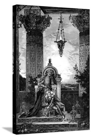 David, 1878-Gustave Moreau-Stretched Canvas Print