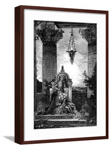 David, 1878-Gustave Moreau-Framed Art Print