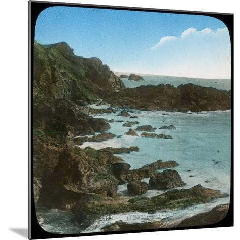Coastal Scene Near the Lizard, Cornwall, Late 19th or Early 20th Century--Mounted Giclee Print