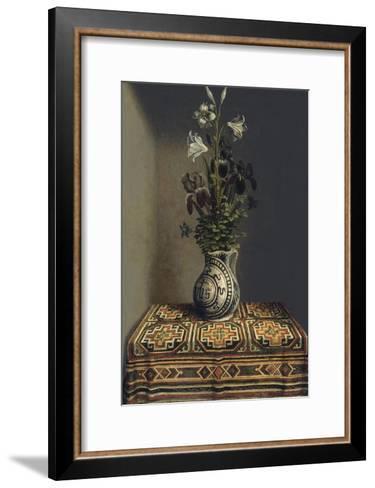 Flowers in a Jug, Ca 1485-Hans Memling-Framed Art Print