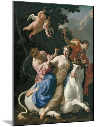 The Rape of Europa, C. 1640-Simon Vouet-Mounted Giclee Print
