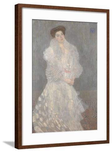 Portrait of Hermine Gallia, 1904-Gustav Klimt-Framed Art Print