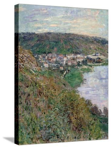 View of V?theuil, 1880-Claude Monet-Stretched Canvas Print