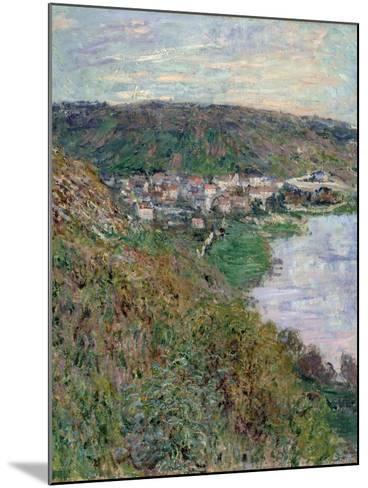 View of V?theuil, 1880-Claude Monet-Mounted Giclee Print