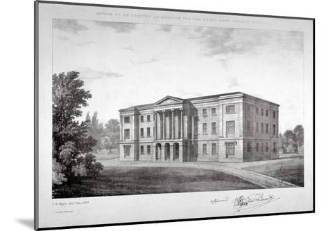 View of the Royal Asylum of St Ann's Society to Be Erected on Streatham Hill, London, 1829-John Henry Taylor-Mounted Giclee Print