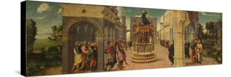 The Death of Dido, Early16th C-Liberale da Verona-Stretched Canvas Print