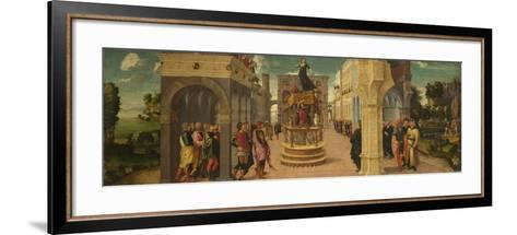 The Death of Dido, Early16th C-Liberale da Verona-Framed Art Print
