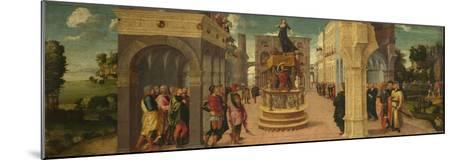 The Death of Dido, Early16th C-Liberale da Verona-Mounted Giclee Print