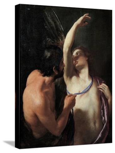 Daedalus and Icarus, C. 1645-Andrea Sacchi-Stretched Canvas Print