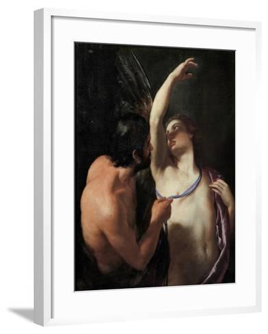 Daedalus and Icarus, C. 1645-Andrea Sacchi-Framed Art Print