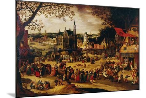 Kermis, C.1600-1605-David Vinckboons-Mounted Giclee Print