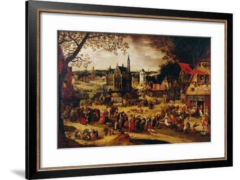 Kermis, C.1600-1605-David Vinckboons-Framed Art Print