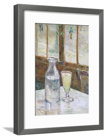 Café Table with Absinth, 1887-Vincent van Gogh-Framed Art Print