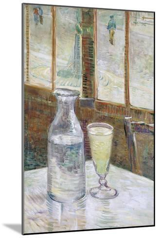 Café Table with Absinth, 1887-Vincent van Gogh-Mounted Giclee Print