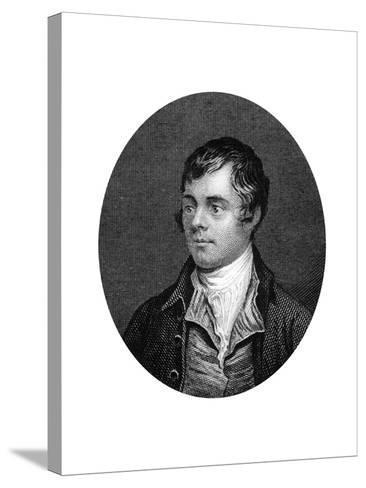 Robert Burns, Scottish Poet, 1877--Stretched Canvas Print