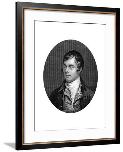Robert Burns, Scottish Poet, 1877--Framed Art Print