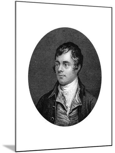 Robert Burns, Scottish Poet, 1877--Mounted Giclee Print