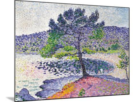Beach, Evening Effect, 1902-Henri Edmond Cross-Mounted Giclee Print