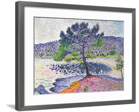 Beach, Evening Effect, 1902-Henri Edmond Cross-Framed Art Print