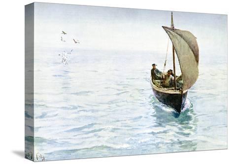 A Sketch, 1900-Charles Napier Hemy-Stretched Canvas Print