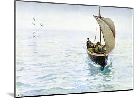 A Sketch, 1900-Charles Napier Hemy-Mounted Giclee Print