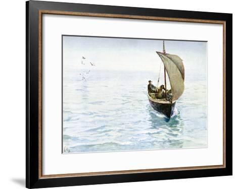 A Sketch, 1900-Charles Napier Hemy-Framed Art Print