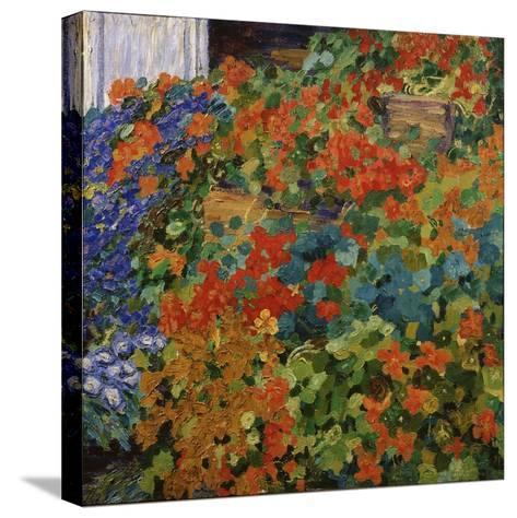 August Carpet, 1909-Mikhail Nikolayevich Yakovlev-Stretched Canvas Print