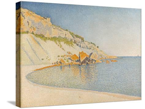 Cassis, Cap Lombard, Opus 196, 1889-Paul Signac-Stretched Canvas Print