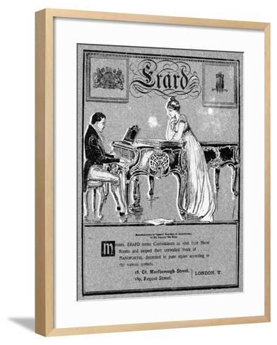 Advertisement for Erard Pianos, 1901--Framed Art Print