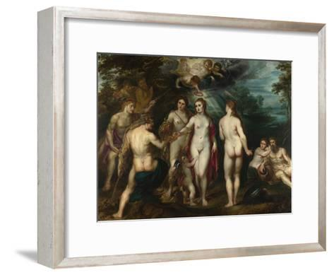 The Judgement of Paris, C. 1599-Peter Paul Rubens-Framed Art Print