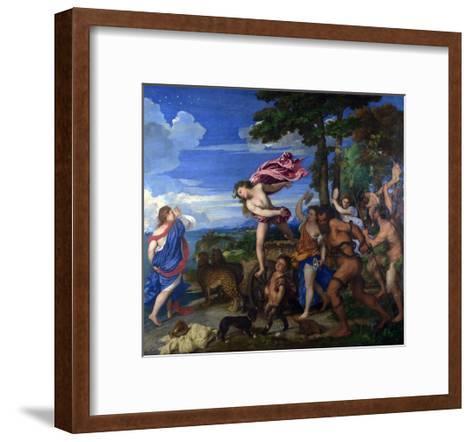 Bacchus and Ariadne, 1520-1523-Titian (Tiziano Vecelli)-Framed Art Print
