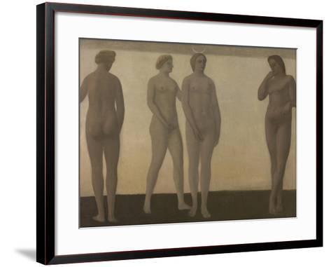 Artemis, 1893-1894-Vilhelm Hammershoi-Framed Art Print