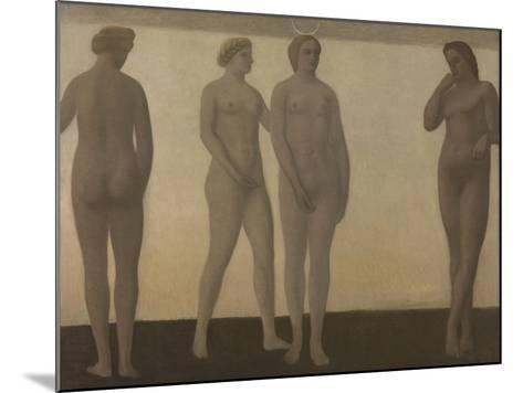 Artemis, 1893-1894-Vilhelm Hammershoi-Mounted Giclee Print