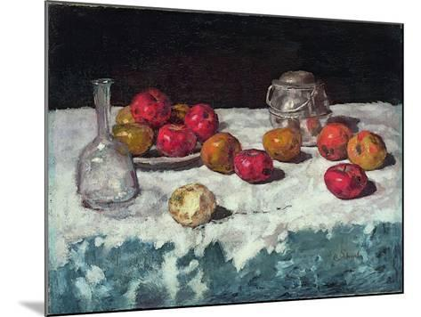 Still Life with Apples, 1889-Carl Schuch-Mounted Giclee Print
