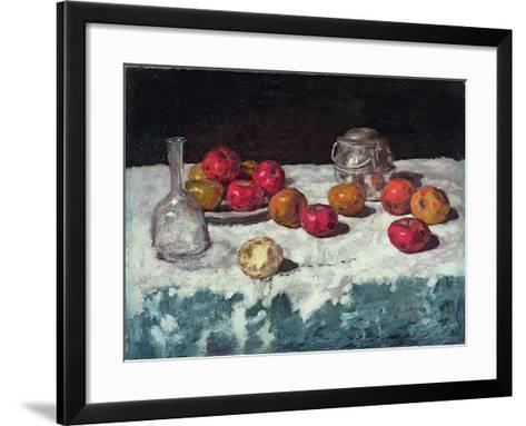 Still Life with Apples, 1889-Carl Schuch-Framed Art Print
